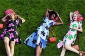 夏天来了,带上你的花裙子来一场草坪聚会吧!