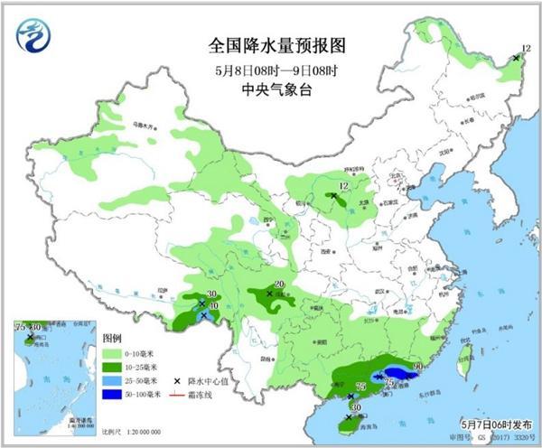 西北雨减弱 周四起全国迎三天降水间歇期