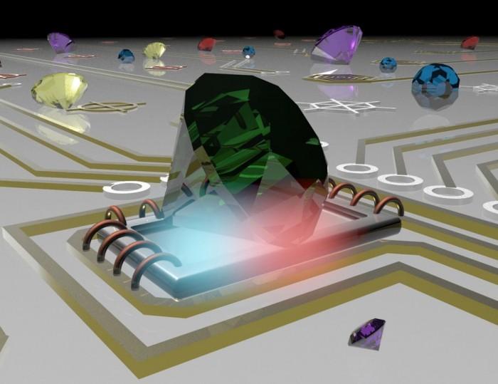 纳米温度计利用金刚石纳米颗粒来提升测量精度
