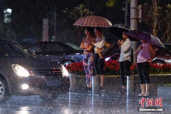 華南江南等地有較強降雨 部分地區伴有強對流天氣