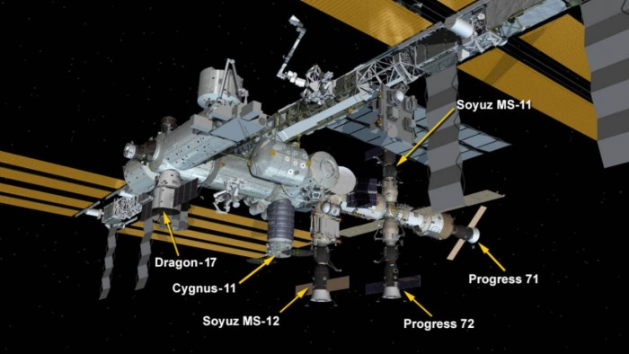 SpaceX货运龙飞船成功与ISS对接