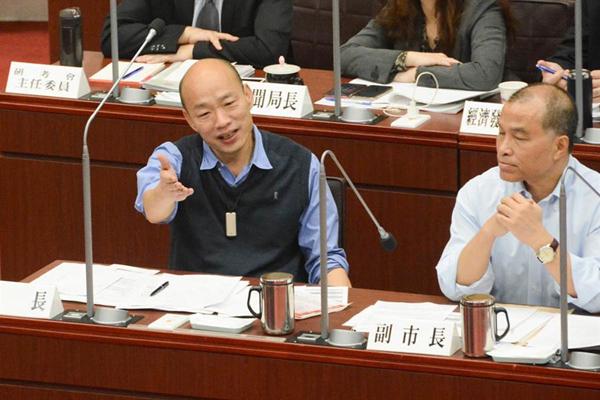 绿议员质疑韩国瑜跳票 韩:协助青年创业决心不变