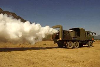防化奇兵軍事競賽 這款防化裝備很少見