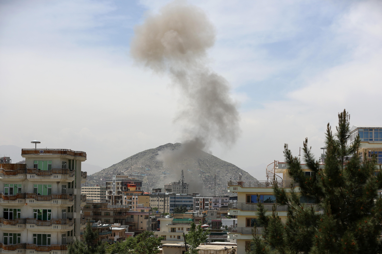 阿富汗喀布尔传出巨大爆炸声 恐造成人员伤亡