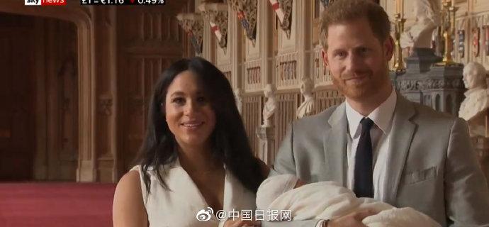 哈里王子的孩子首次亮相!长这个样子