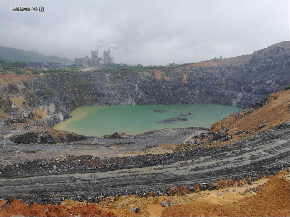广东龙门县采石致地面塌陷后续:涉事石场已全面停产整顿