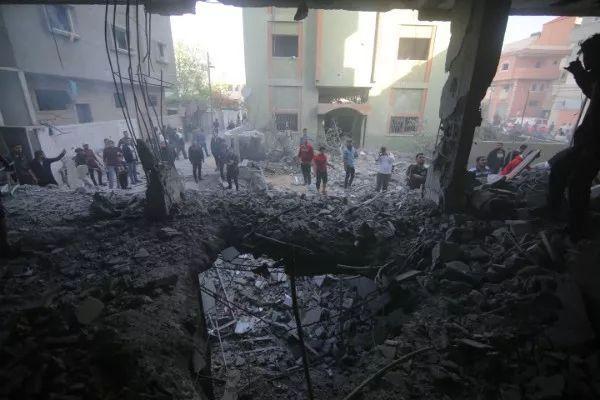 """""""如果我们有错,那就错在我们生活在加沙"""""""