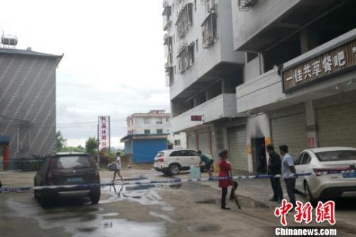 踏访桂林民房火灾致5死38伤事发地:租客多为在校大学生