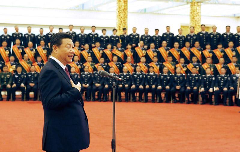 2019-06-19,习近平在北京人民大会堂会见全国公安机关爱民模范集体代表和爱民模范。