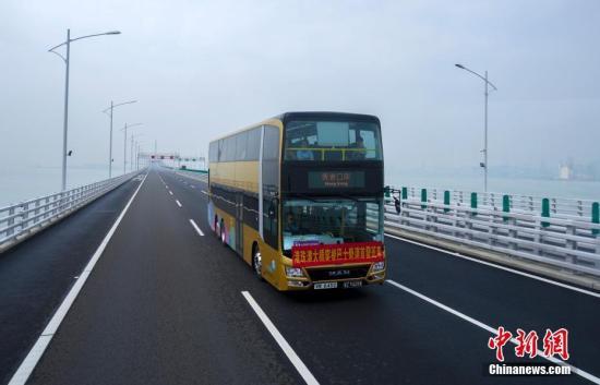 澳门媒体:港珠澳大桥澳门口岸拟设香港机场直通巴士