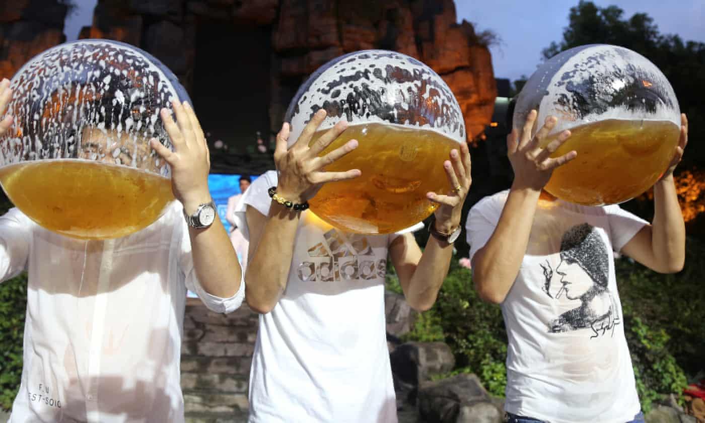 英媒:全球酒精消费量显著增加 部分归因于中国