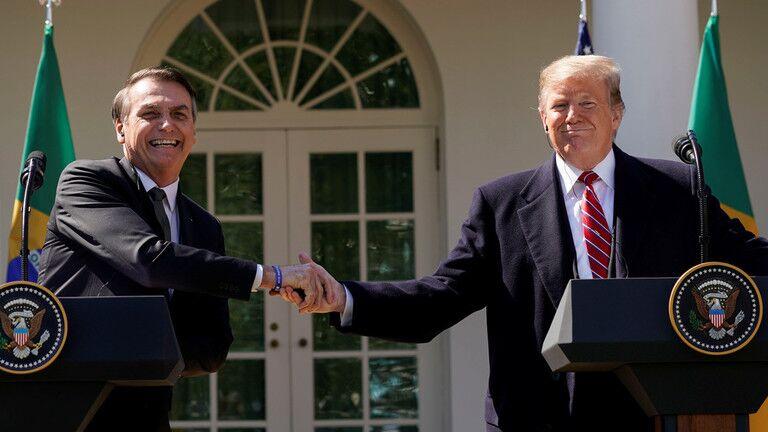 """特朗普通知国会:将宣布巴西为""""非北约主要盟国"""""""