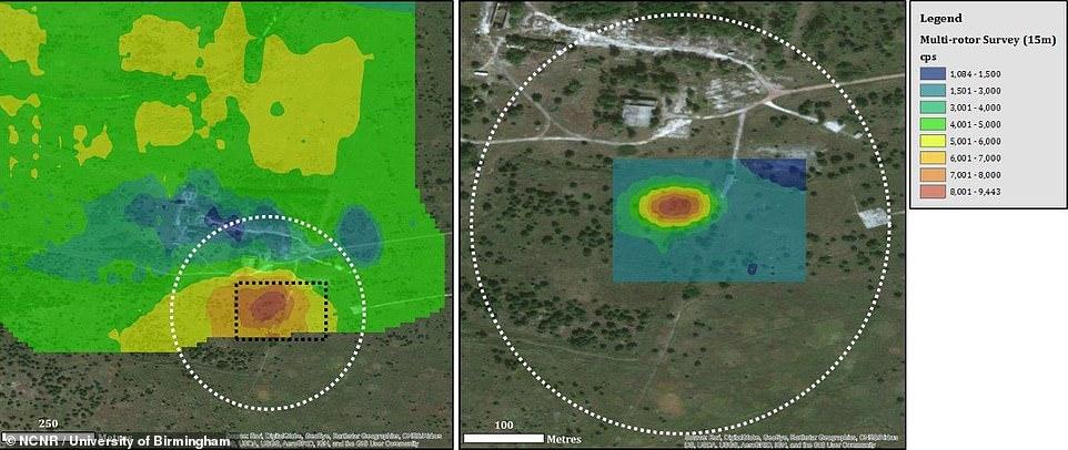 一年7万游客参观切尔诺贝利 无人机绘制3D辐射剂量图