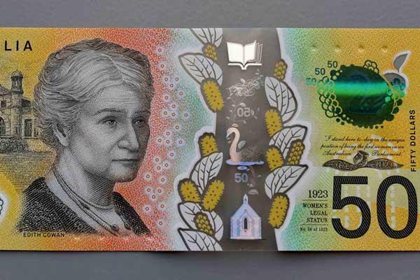 尴尬!澳大利亚新版50澳元纸币上出现拼写错误