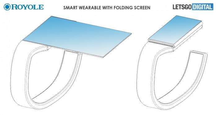 柔宇可折叠手表专利曝光:解决其屏幕小短板