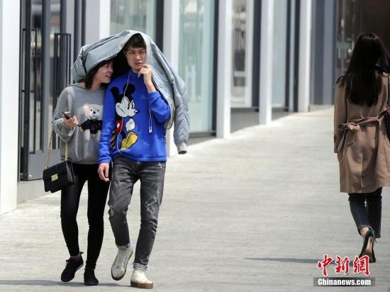 中国中东部大部天气晴好 海南岛局地有大雨或暴雨