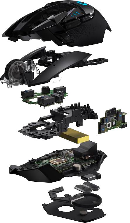 罗技推出G502 Lightspeed无线游戏鼠标