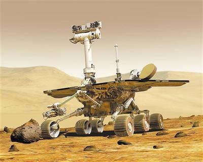 """""""好奇""""号在火星看日食"""