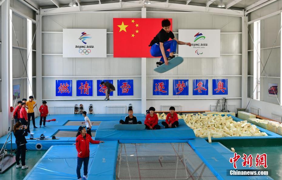 探访张家口市青少年冬季奥林匹克运动学校