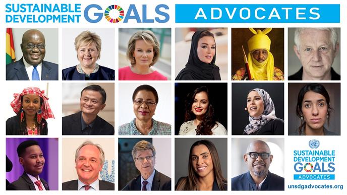 联合国任命马云为全球可持续发展倡导者