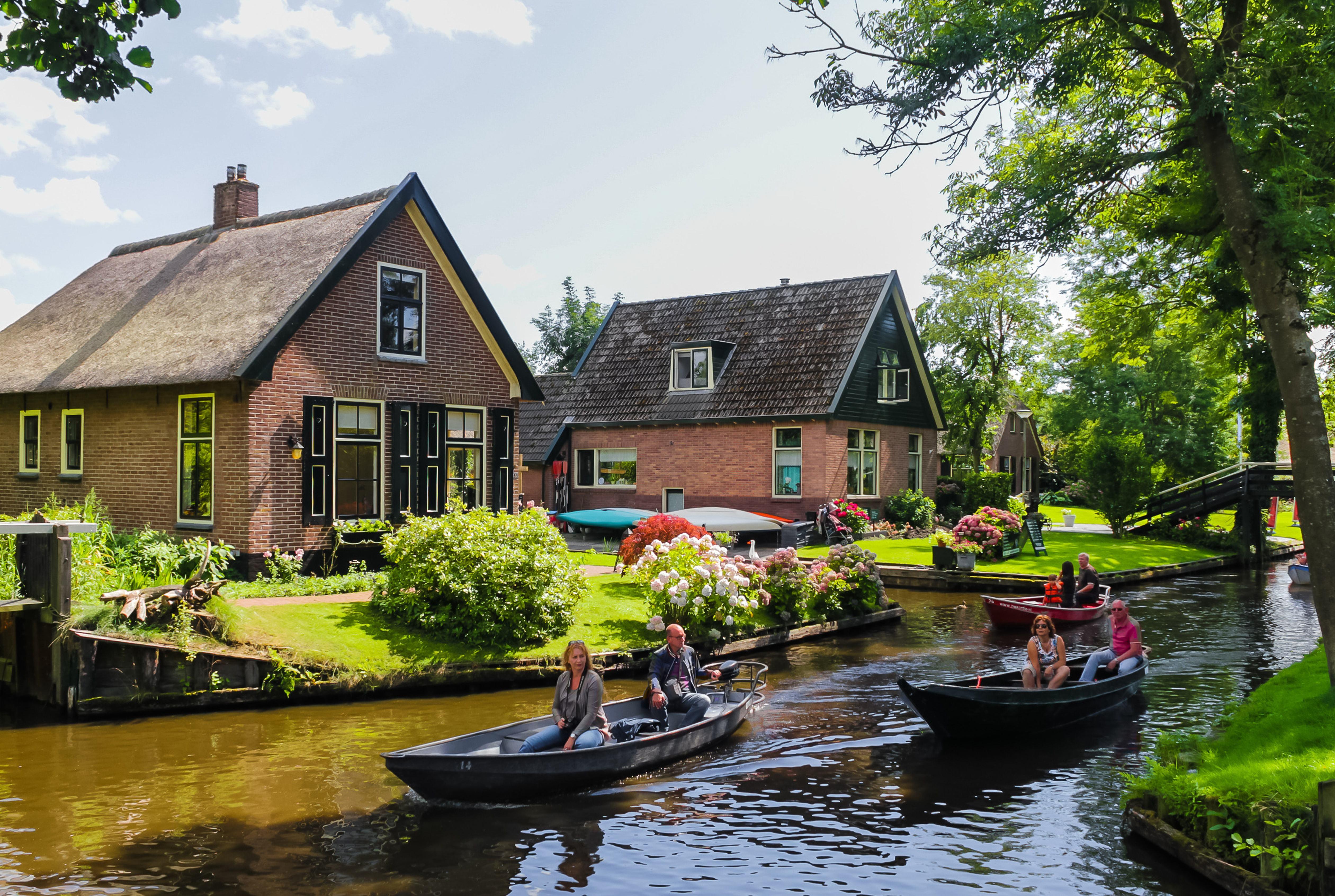 """反对游客爆满  荷兰从鼓励旅游变为""""管理旅游"""""""