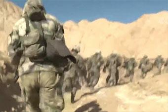 磨練鋼筋鐵骨沙漠中不設預案直接實戰演練