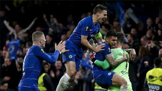 切尔西点球取胜 晋级欧罗巴联赛决赛