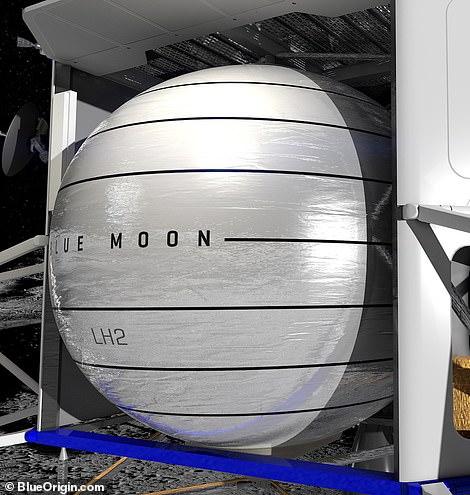 贝佐斯蓝色起源发布登月计划:2024年重返月球
