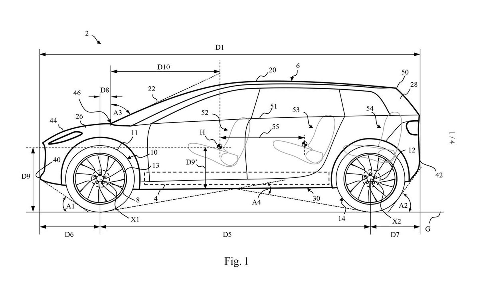 戴森电动汽车专利图公布 有望2021年投产