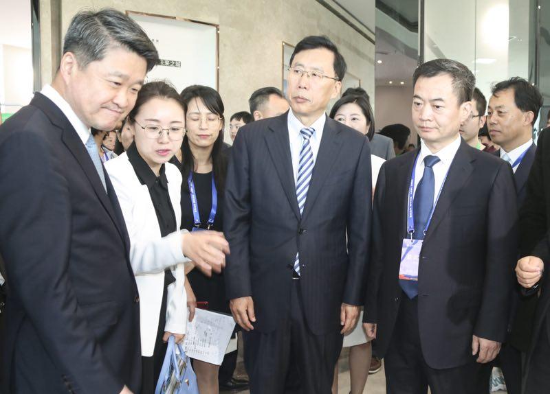 第四届丝博会中国(陕西)—韩国经贸合作洽谈会暨中国酵素城开园仪式举行