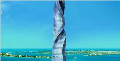 真正的全景住房,每层都能360度旋转