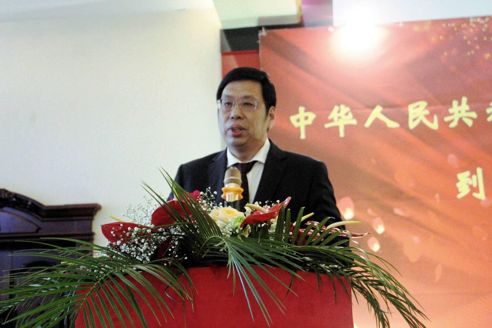 驻佛罗伦萨总领事王文刚举行到任华侨华人招待会