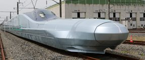 世界最快子弹头列车测试
