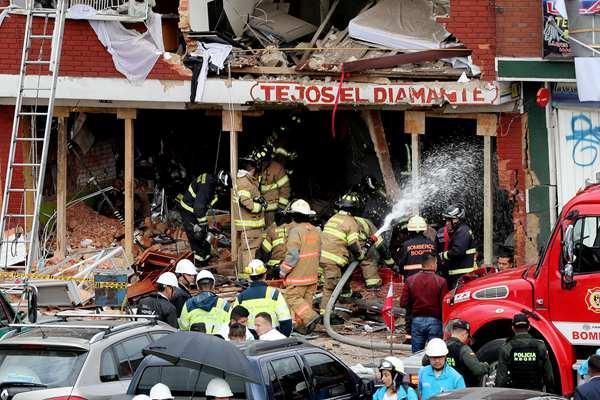 哥伦比亚首都发生瓦斯爆炸 致多人死伤