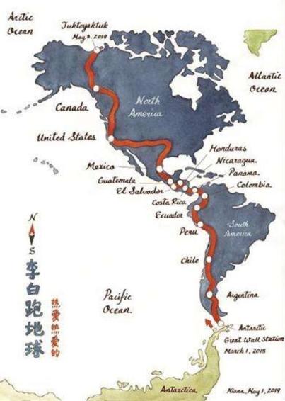 千山风景路线图