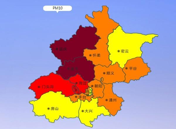 北京降雨过后沙尘至 傍晚起或影响城区