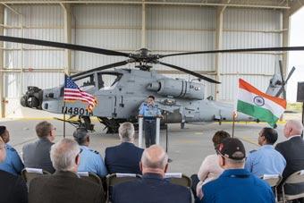能否躲過墜機厄運?印度接收美制阿帕奇直升機