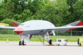 """性感""""小紅唇""""亮了:美國MQ-25無人機備戰首飛"""