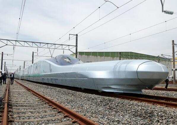 """日本新型新干线""""试跑"""":瞄准世界最高时速运营"""