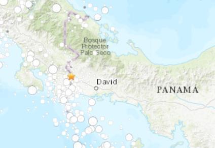 巴拿马民防部门:强震造成5人受伤 多栋建筑被损毁