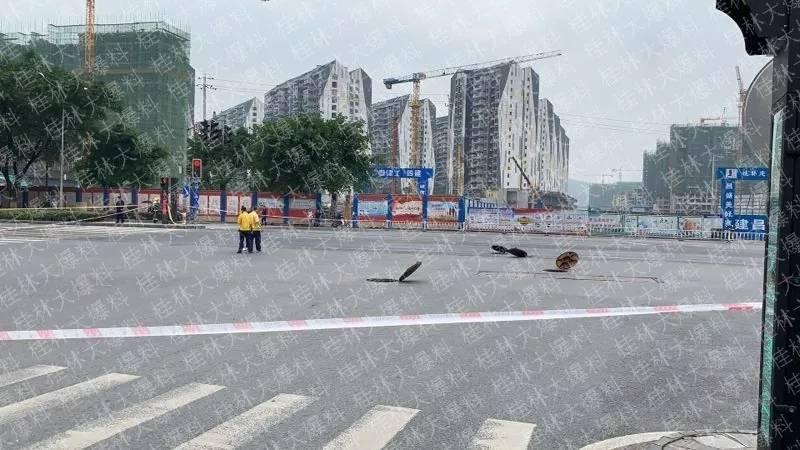 """桂林燃气管道泄漏,井盖跳舞""""报警""""!多个小区已收到紧急通知"""