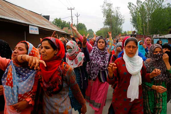 印控克什米尔3岁女孩遭强奸 引发民众抗议