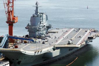 國產航母海試滿一年曝新照 飛行甲板出現新變化