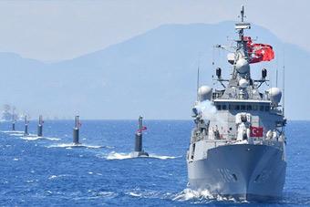 戰艦戰機云集 土耳其史上最大海軍演習打響