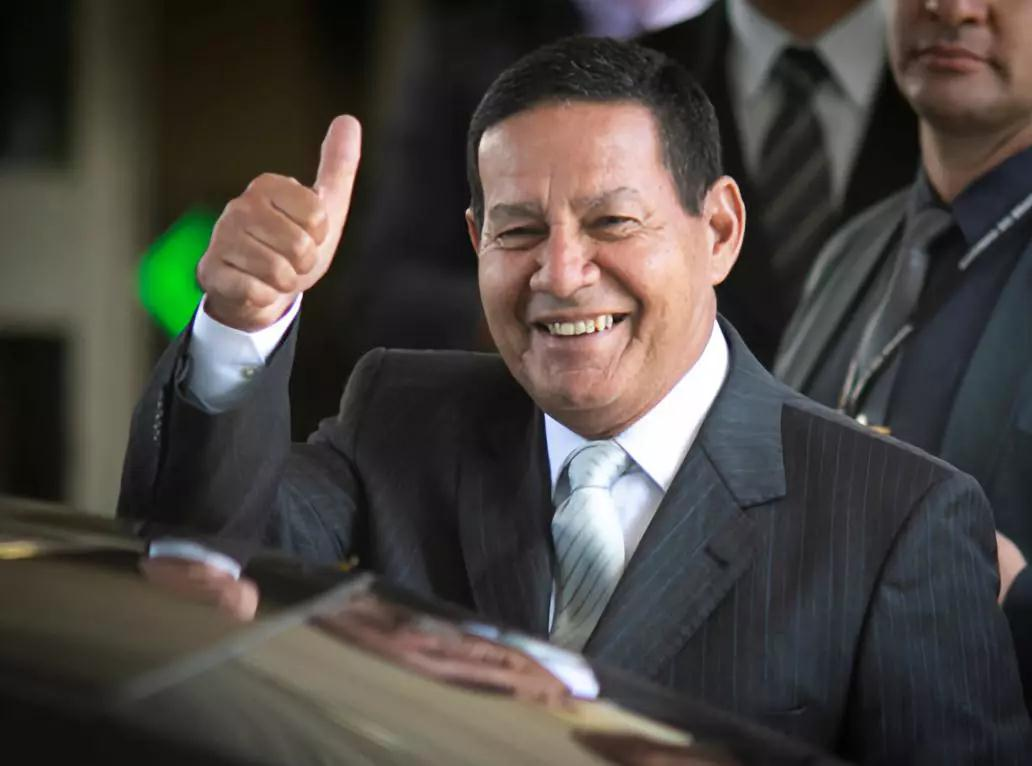 """巴西副总统:巴西期待加入""""一带一路""""倡议"""