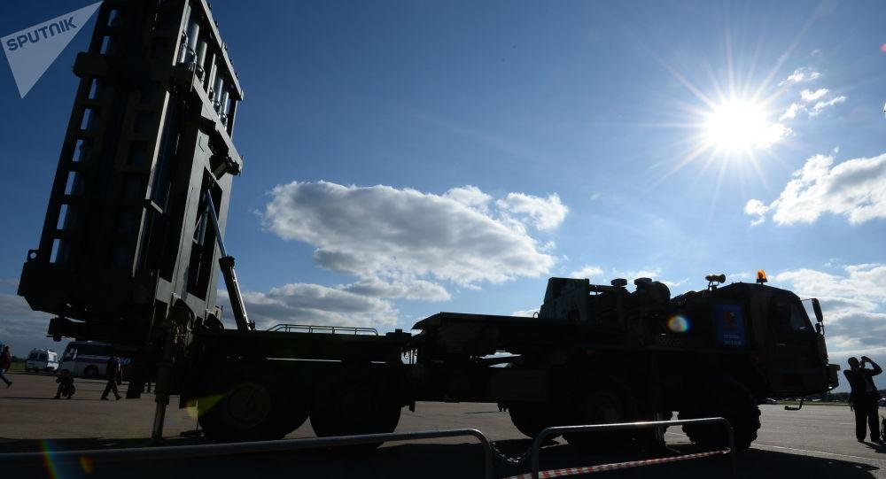 俄自曝S350防空系统部署地 称不怕被卫星跟踪