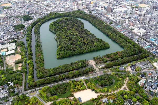 """日本""""仁德天皇陵""""等49座古坟群将入选世界文化遗产"""