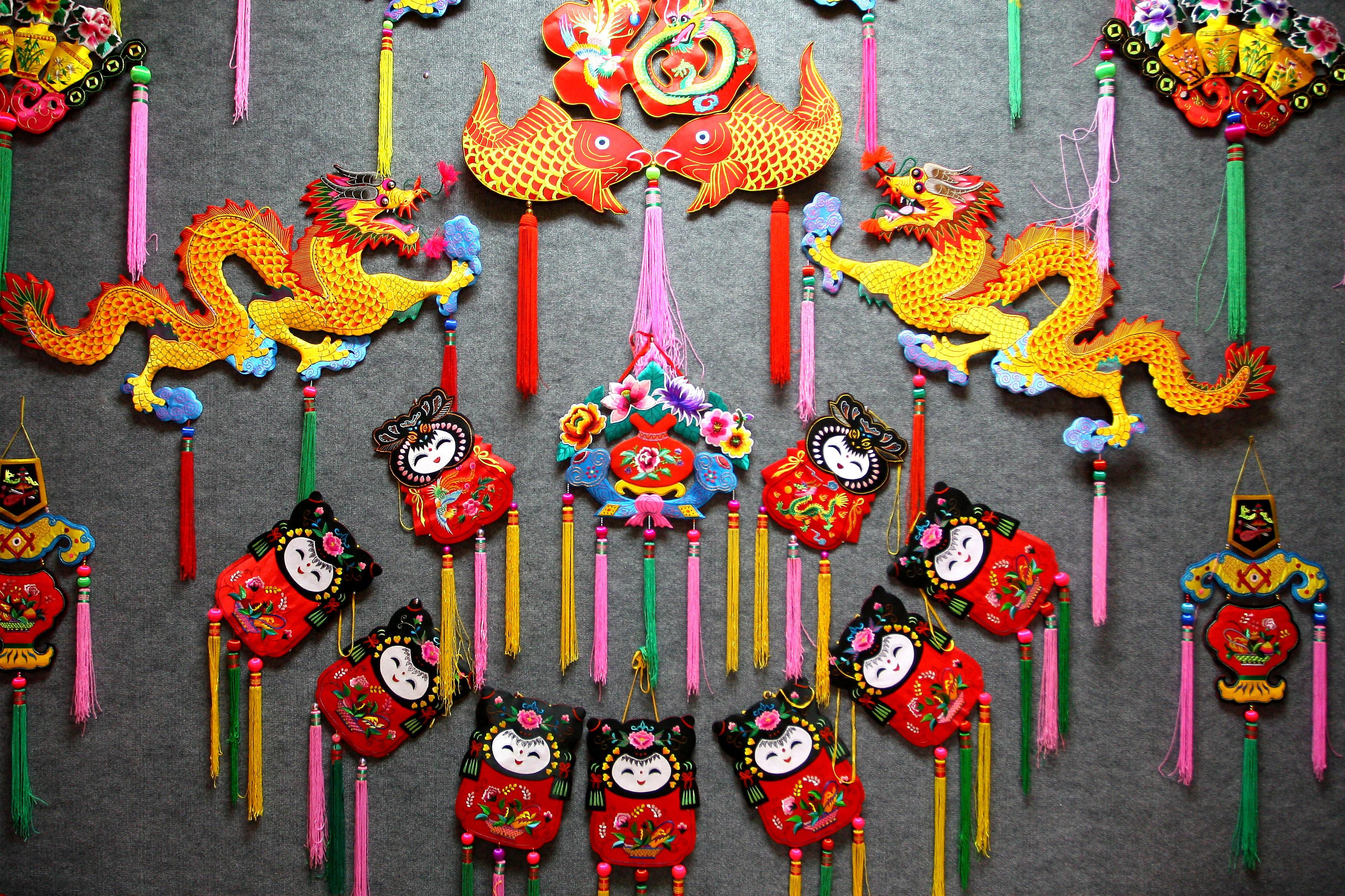 国家级非物质文化遗产——陇绣
