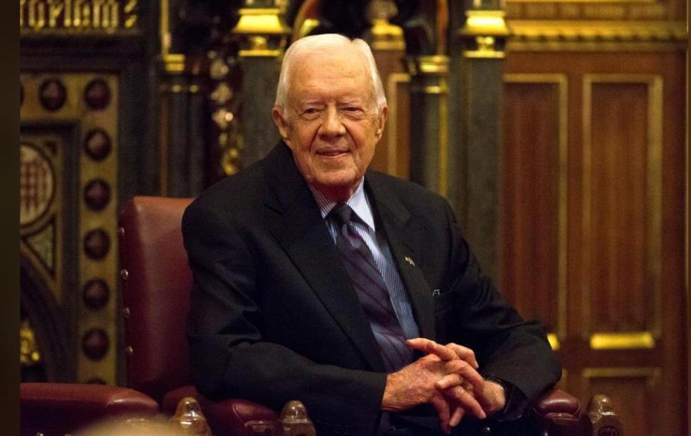 94岁美国前总统卡特猎火鸡时摔断臀部 送医手术