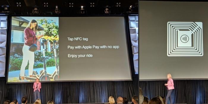 苹果支持Apple Pay NFC标签 与Bird滑板车等合作